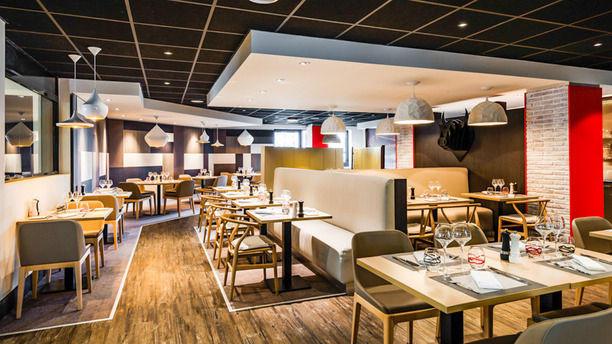 restaurant black angus h tel holiday inn toulouse airport blagnac. Black Bedroom Furniture Sets. Home Design Ideas